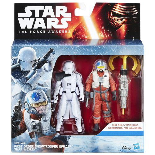 Star Wars The Force Awakens Snowtrooper & Snap Wexley 2 Pack